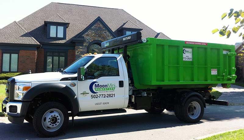 Roll Off Dumpster Rentals Moon Companies Louisville